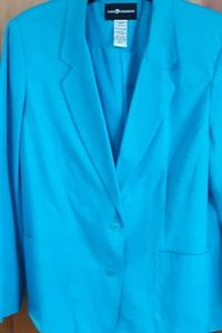 Sag Harbor Bright Blue Blazer